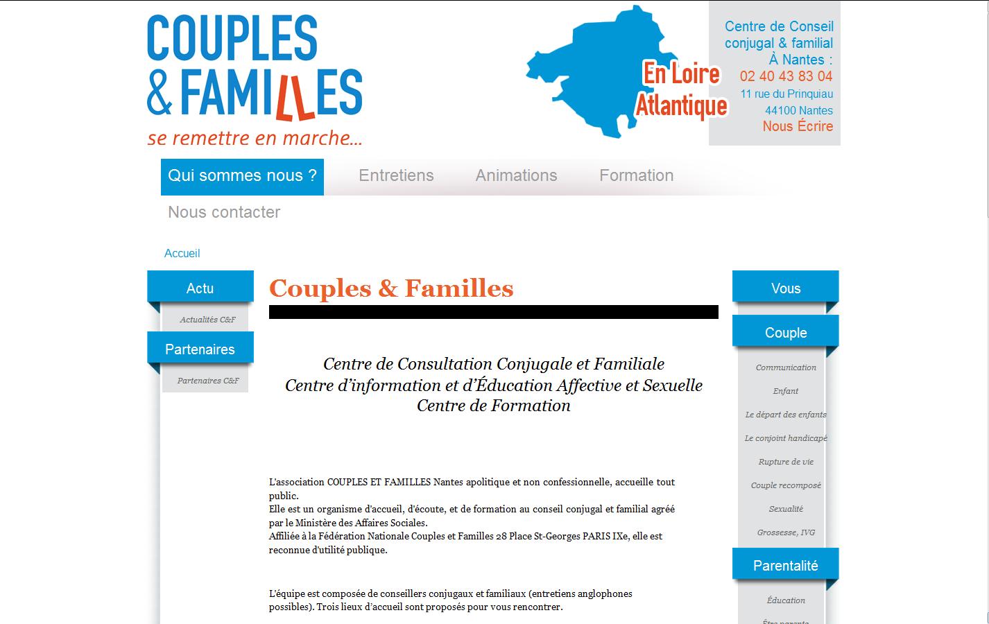 Couples & Familles Nantes